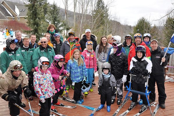 2013 Windham Mountain U.S. Ski Team Day   Photo: Kate Klingsmith, Jessica Miller, LeAnne Zamzow, Ruth Flanagan/U.S. Ski Team