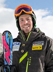 2011-12 U.S. Alpine Ski Team Dave Chodounsky Photo: Eric Schramm