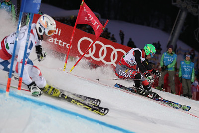 SCHLADMING, AUSTRIA - FEBRUARY 12:  David Chodounsky competes in the team event of the Alpine FIS Ski World Championships on February 12, 2013 in Schladming, Austria, (Photo by Mitchell Gunn/ESPA) Image may be used for editorial purposes only.