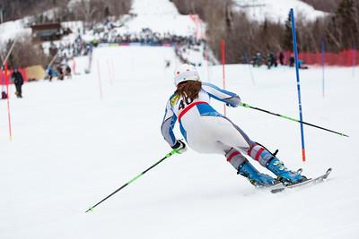 Haley Cutler Women's Slalom 2015 Nature Valley U.S. Alpine Championships at Sugarloaf Mountain, Maine Photo: USSA