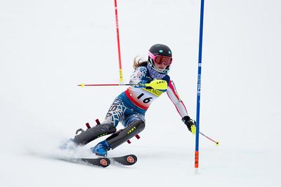 Madison Lord Women's Slalom 2015 Nature Valley U.S. Alpine Championships at Sugarloaf Mountain, Maine Photo: USSA