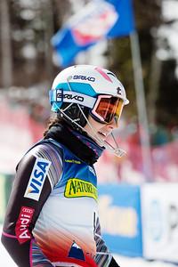 Megan McJames Women's Slalom 2015 Nature Valley U.S. Alpine Championships at Sugarloaf Mountain, Maine Photo: USSA