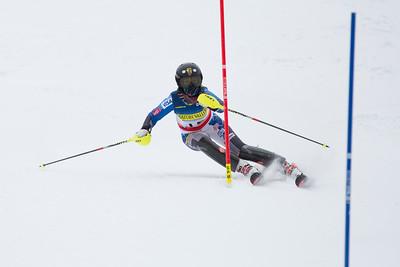 Jessica Reinhart Women's Slalom 2015 Nature Valley U.S. Alpine Championships at Sugarloaf Mountain, Maine Photo: USSA