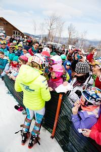 Mikaela Shiffrin Women's Slalom 2015 Nature Valley U.S. Alpine Championships at Sugarloaf Mountain, Maine Photo: USSA