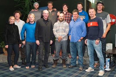 U.S. Alpine Ski Team ambassador dinner at Ohau, New Zealand. Photo © Ola Thorsen/US Embassy