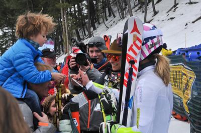 Mikaela Shiffrin Women's GS 2016 Nature Valley U.S. Alpine Championships at Sun Valley, Idaho Photo: U.S. Ski Team
