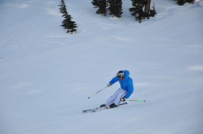 Squaw Valley 2012 U.S. Ski Team Day April 7, 2012 Norwegian alpine skier, Aksel Lund Svindal Dawn Patrol with U.S. Ski Team Athletes and Olympic Sponsors Photo: Katie Perhai/USSA