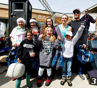 Squaw Valley 2012 U.S. Ski Team Day April 7, 2012 Aksel Lund Svindal's team takes third in the pro-am race! Photo: Squaw Valley