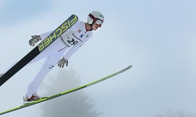 Hisaki Nagamine - Nordic Combined Continental Cup Jump