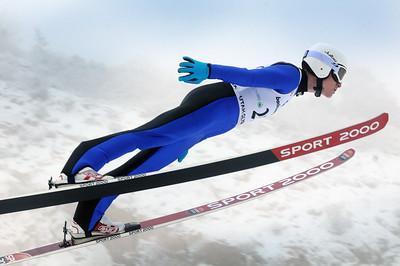 Ben Berend - Nordic Combined Continental Cup Jump