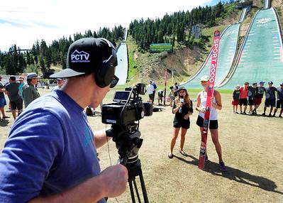 PCTV at U.S. Ski Jumping Championships - Utah Olympic Park