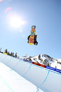 2012 Sprint U.S. Snowboarding Grand Prix at Mammoth Snowboard Halfpipe Finals Tyler Anderson Photo: Sarah Brunson/U.S. Snowboarding
