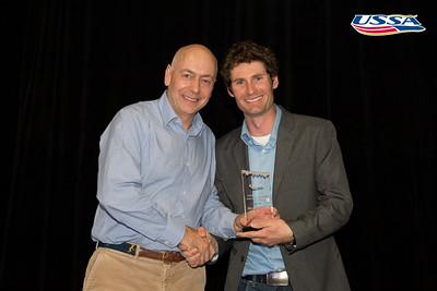 Nordic Combined Athlete of the Year: Bryan Fletcher 2015 USSA Congress Chairman Award's Dinner Photo: USSA