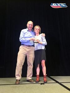 Cross Country Athlete of the Year: Liz Stephen 2015 USSA Congress Chairman Award's Dinner Photo: USSA