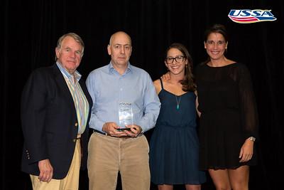 John J. Clair Award: Deedee Corradini  2015 USSA Congress Chairman Award's Dinner Photo: USSA