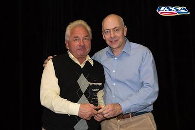 Paul Bacon Award: Beat Hupfer - Mammoth Mountain Race Team 2015 USSA Congress Chairman Award's Dinner Photo: USSA