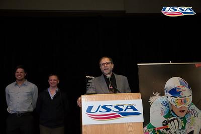 Freeskiing Club of the Year: Team Park City United 2015 USSA Congress Chairman Award's Dinner Photo: USSA