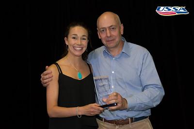 Ski Jumping Athlete of the Year: Sarah Hendrickson 2015 USSA Congress Chairman Award's Dinner Photo: USSA
