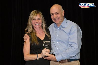 Bud and Mary Little Award: Ceil Folz 2015 USSA Congress Chairman Award's Dinner Photo: USSA